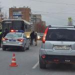 На проспекте Лапенкова маршрутный автобус сбил ребёнка