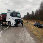 На трассе Ачинск — Красноярск в ДТП погиб пожилой водитель